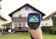 Infrarood opname maakt warmteverlies zichtbaar