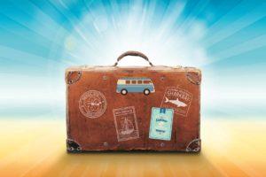 Het GezondeShop vakantiepakket met zonnebrandlotion, bodylotion, actimaris gel en wondspoelvloeistof